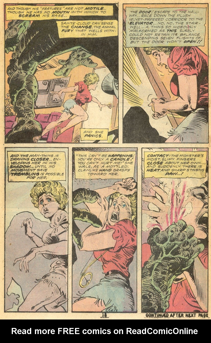 Man-Thing (1974) issue 15 - Page 13
