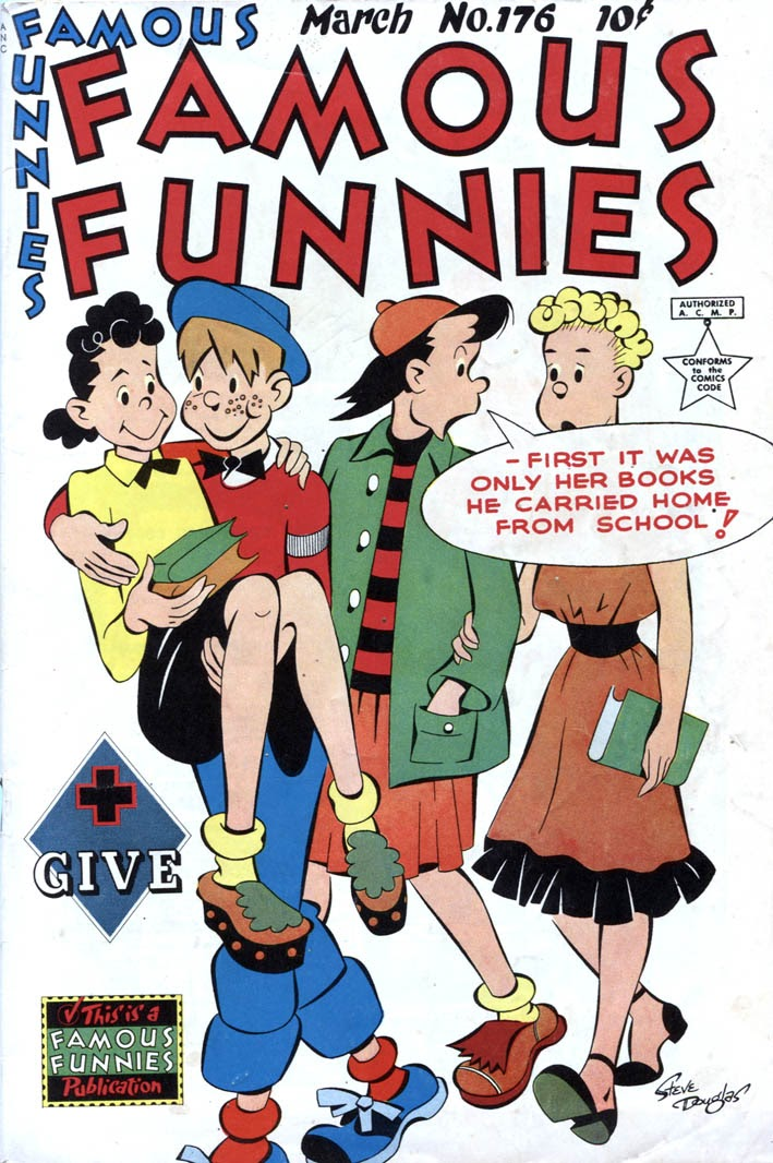 Read online Famous Funnies comic -  Issue #176 - 1