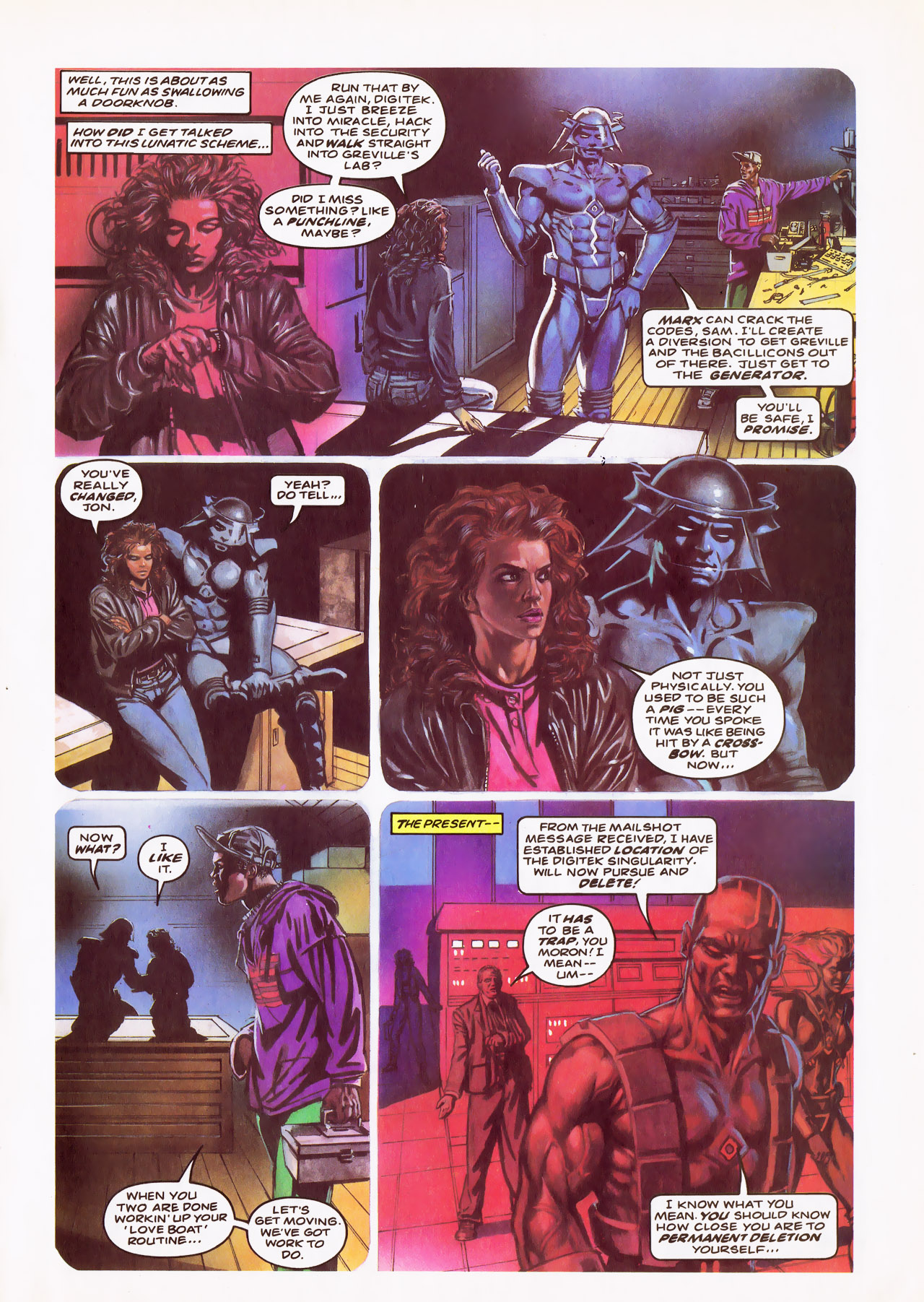 Read online Overkill comic -  Issue #24 - 13