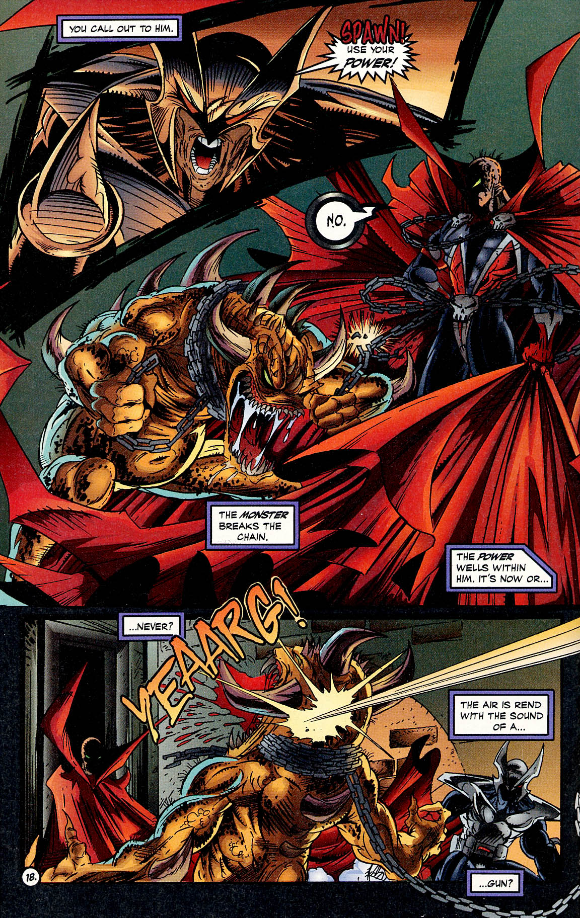 Read online ShadowHawk comic -  Issue #17 - 17