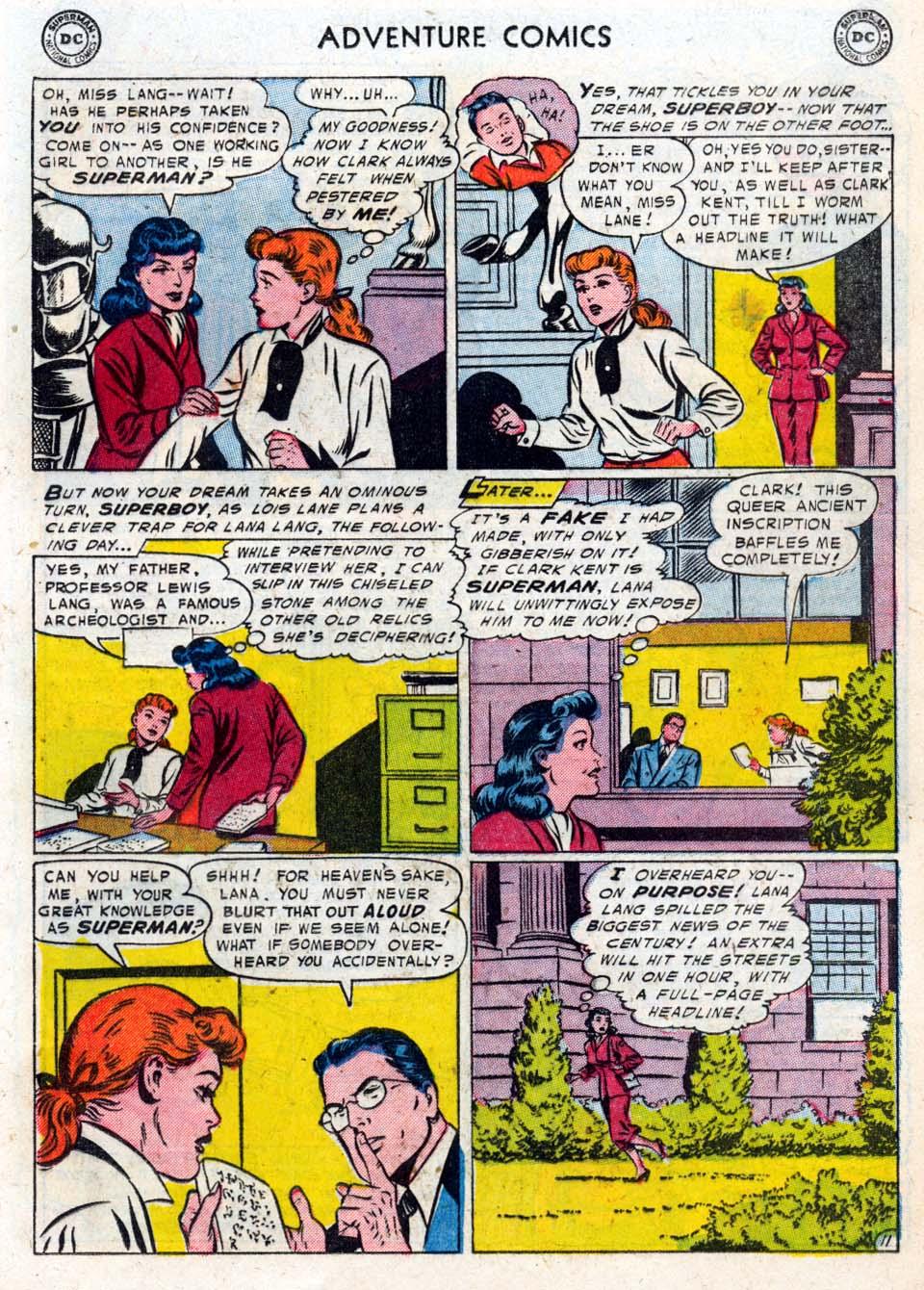 Read online Adventure Comics (1938) comic -  Issue #211 - 13