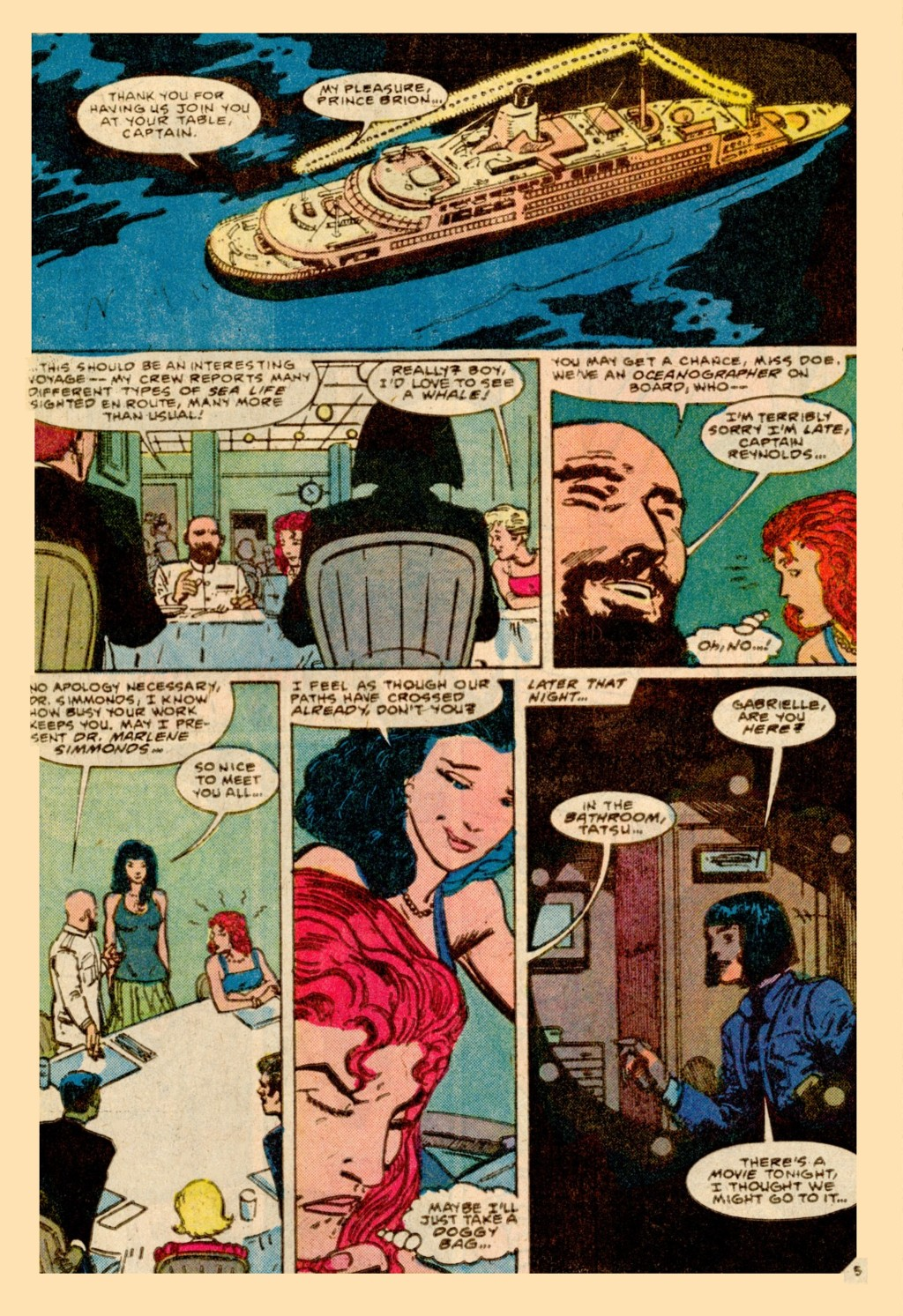 Read online Adventures of the Outsiders comic -  Issue #37 - 6