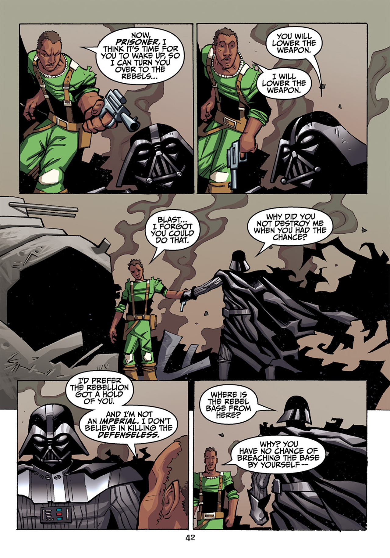 Read online Star Wars Omnibus comic -  Issue # Vol. 33 - 281