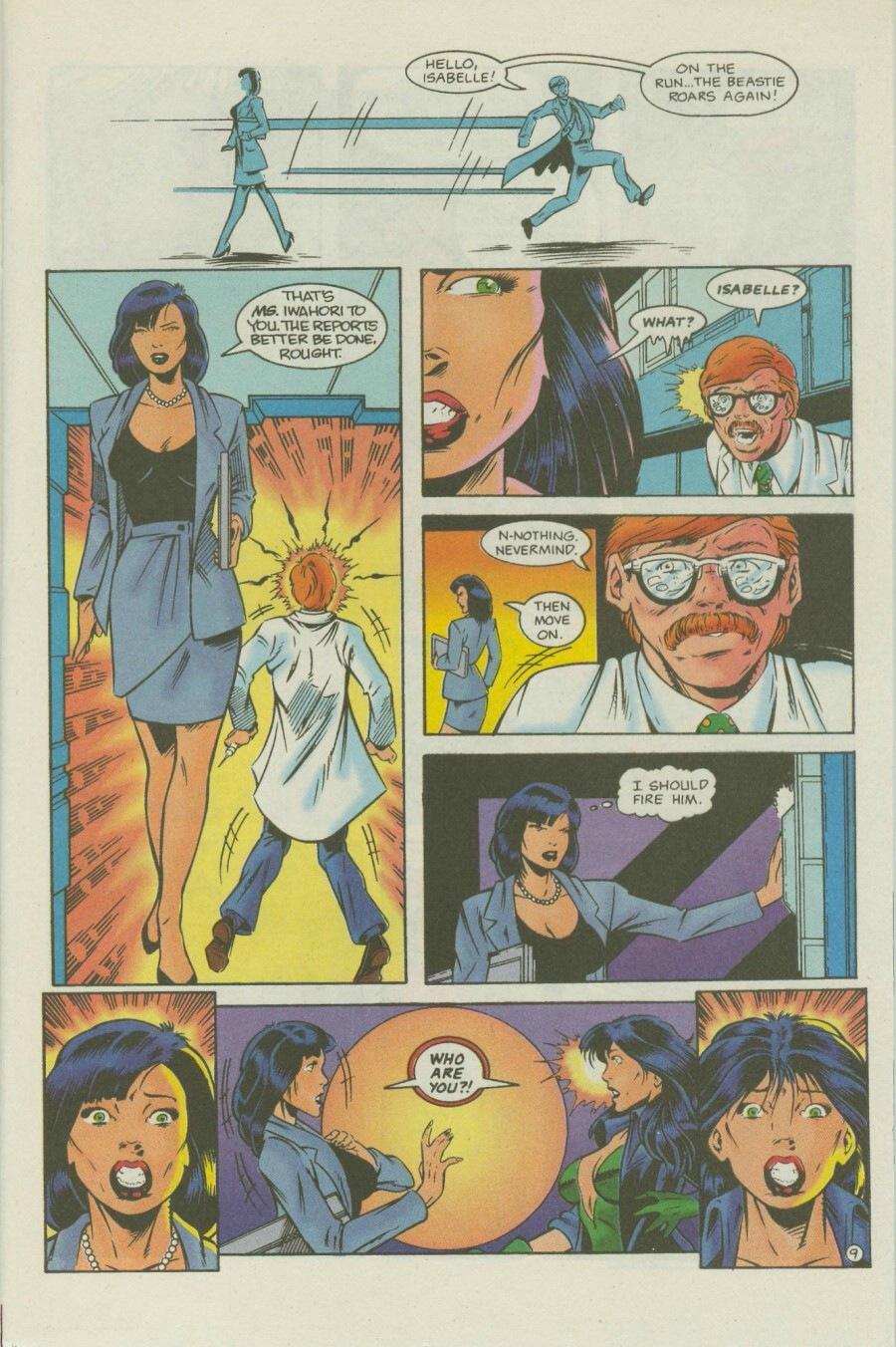 Read online Ex-Mutants comic -  Issue #7 - 12