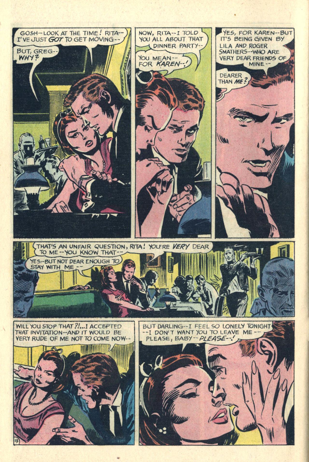Read online Secret Hearts comic -  Issue #112 - 32