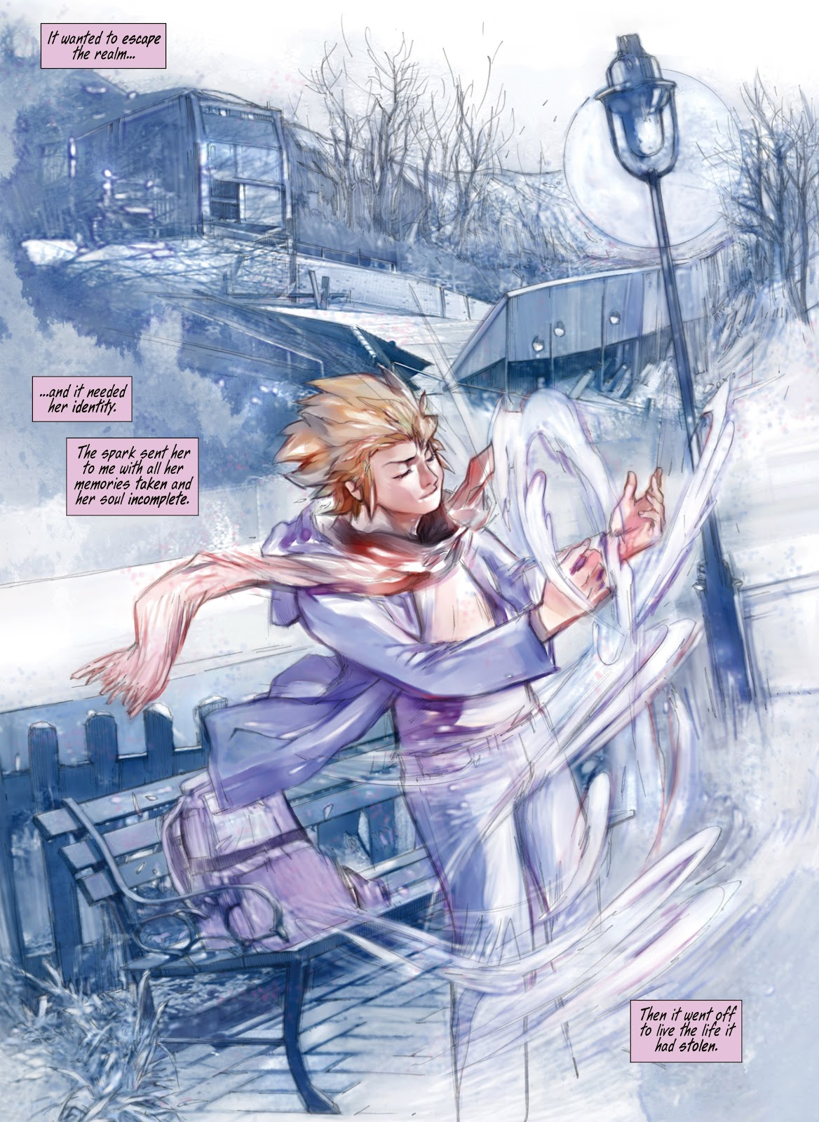 Read online Makeshift Miracle: The Girl From Nowhere comic -  Issue #12 - 10