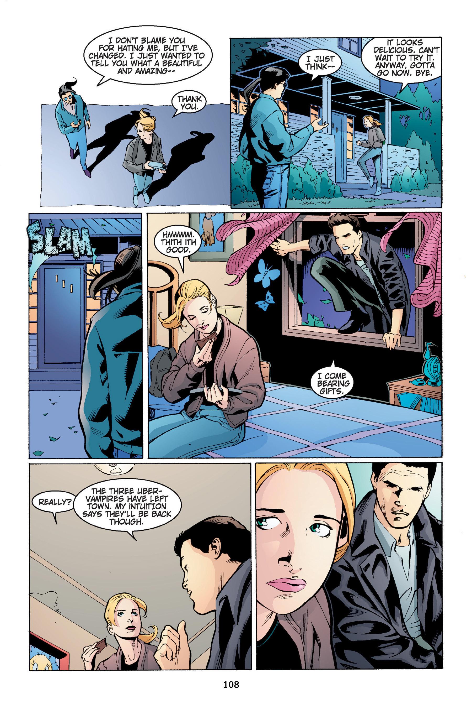 Read online Buffy the Vampire Slayer: Omnibus comic -  Issue # TPB 4 - 109