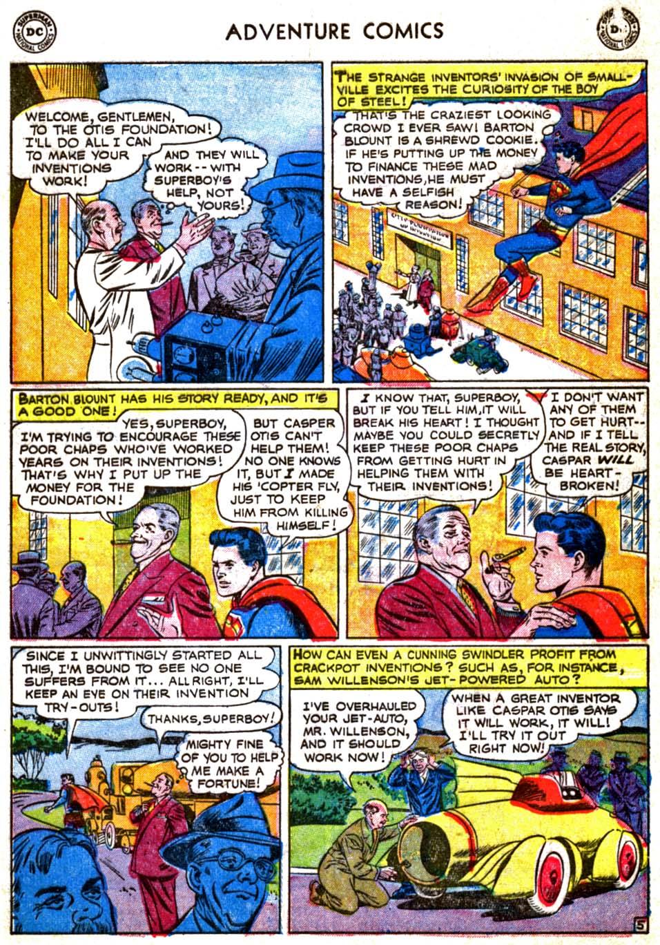 Read online Adventure Comics (1938) comic -  Issue #179 - 7
