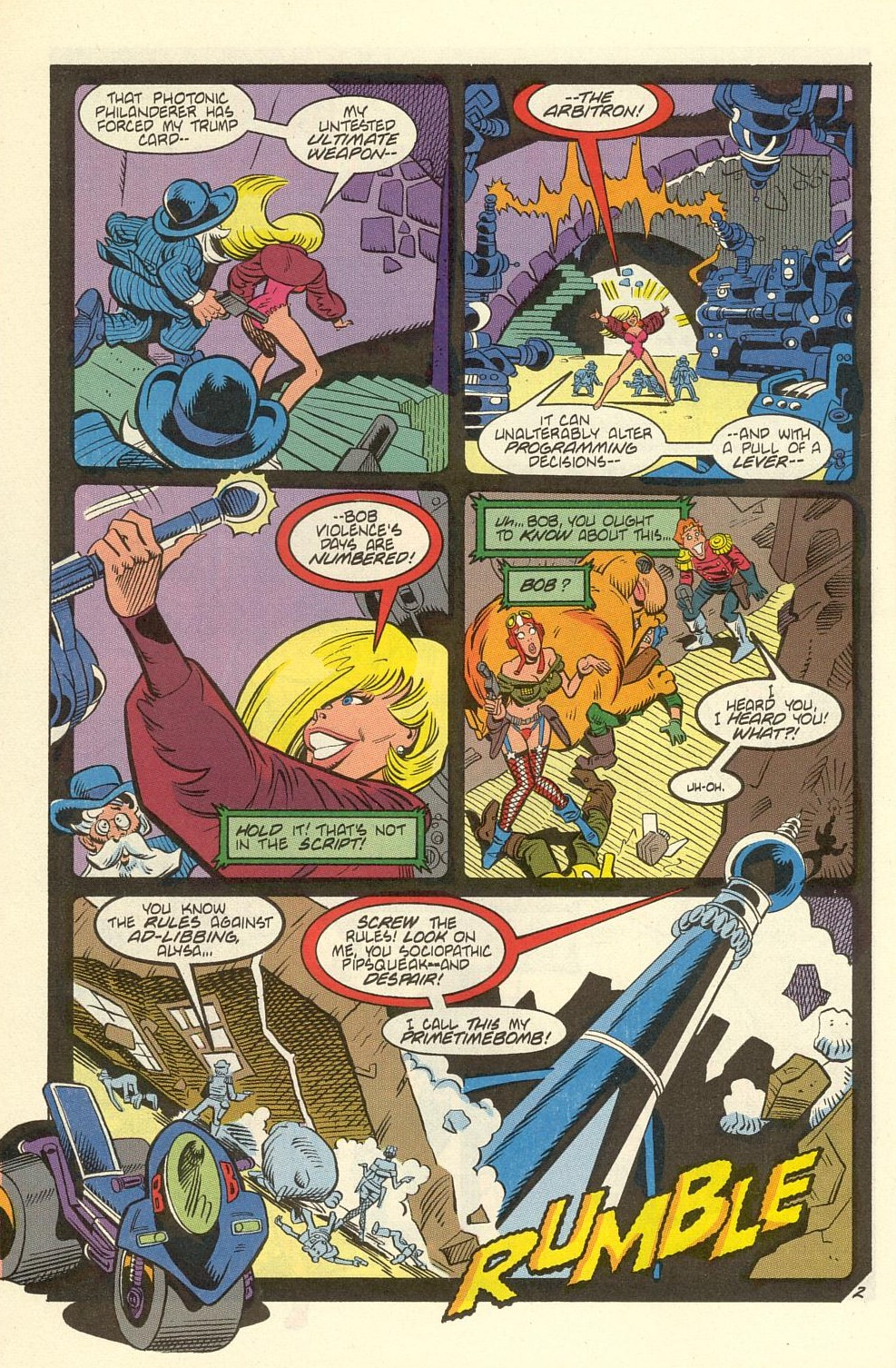 Read online American Flagg! comic -  Issue #39 - 28