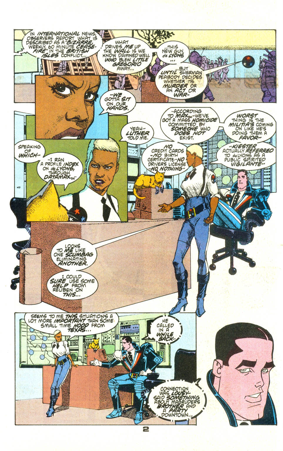 Read online American Flagg! comic -  Issue #21 - 4