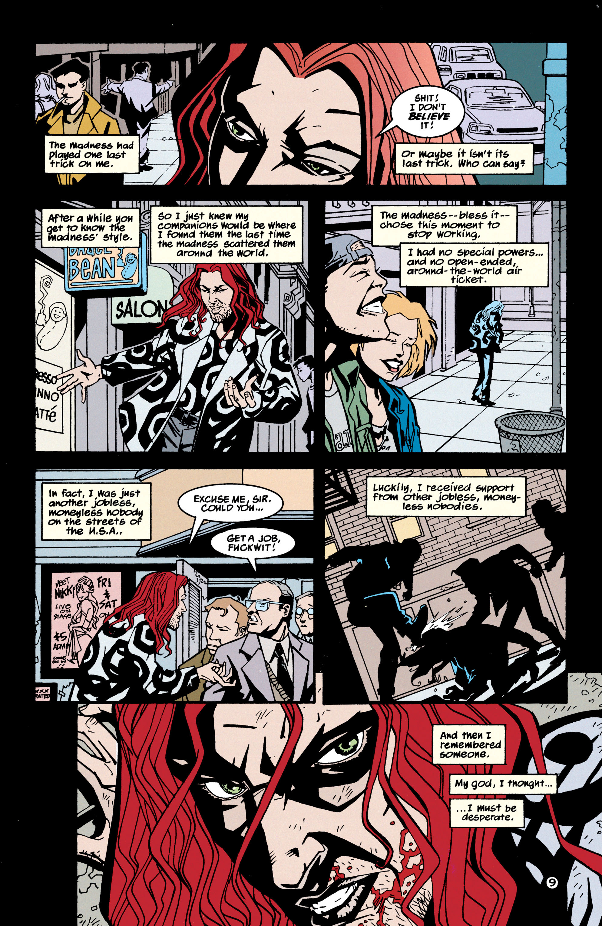 Read online Shade, the Changing Man comic -  Issue #70 - 10