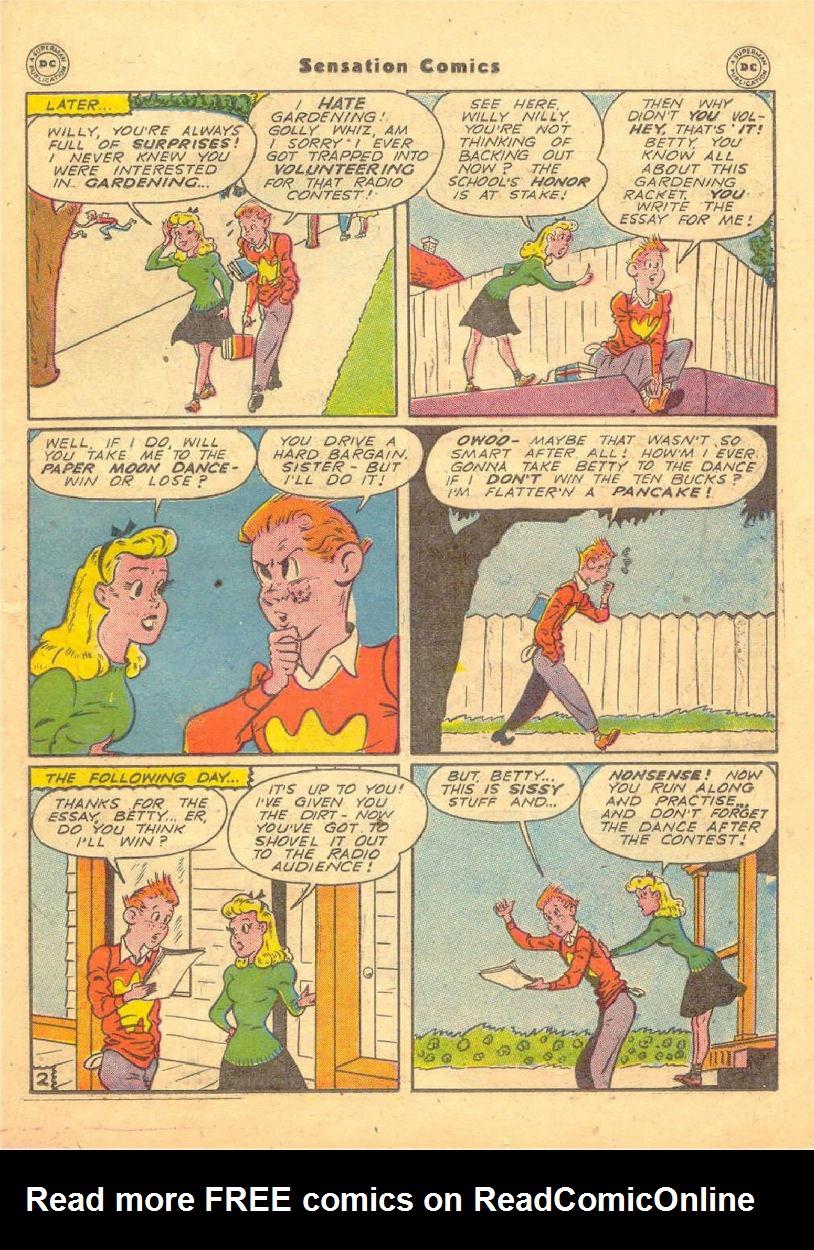 Read online Sensation (Mystery) Comics comic -  Issue #70 - 34