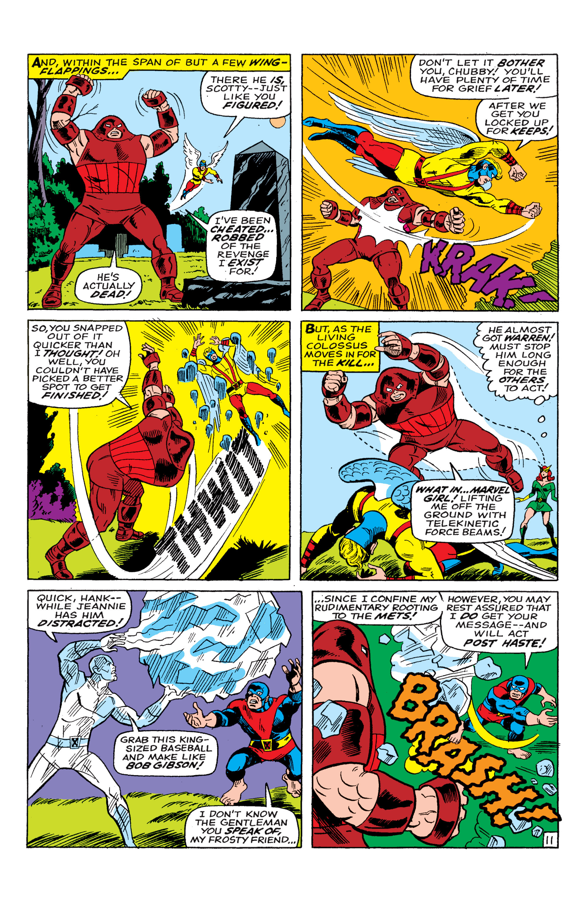 Read online Uncanny X-Men (1963) comic -  Issue #46 - 12
