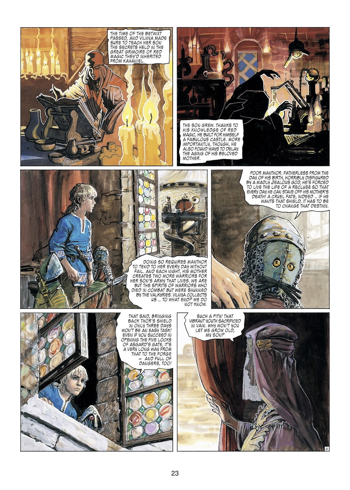 Read online Thorgal comic -  Issue #23 - 25