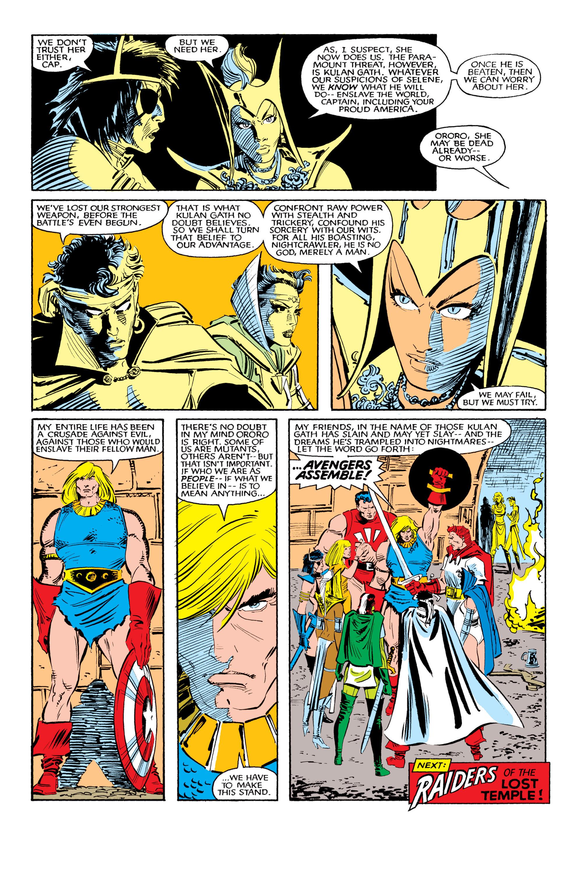 Read online Uncanny X-Men (1963) comic -  Issue #190 - 25