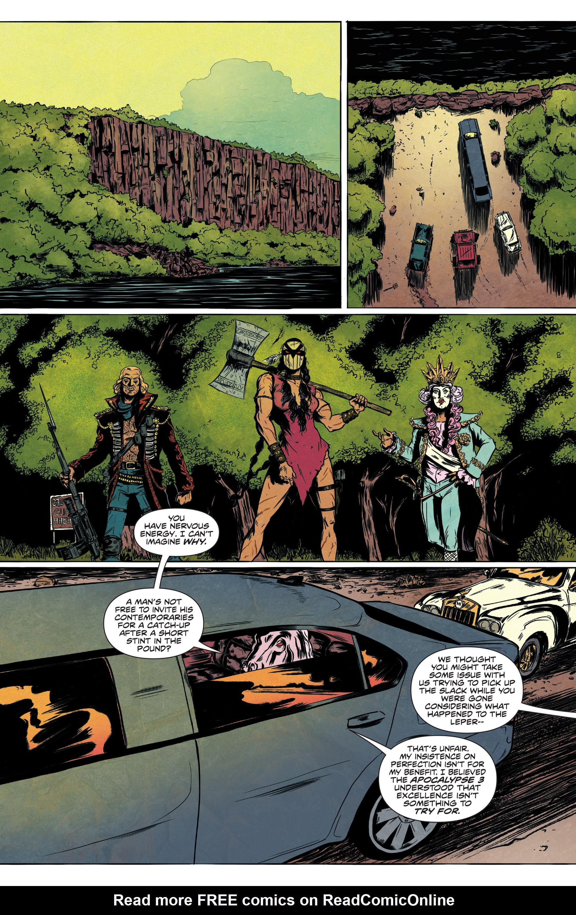 Read online Translucid comic -  Issue #1 - 7