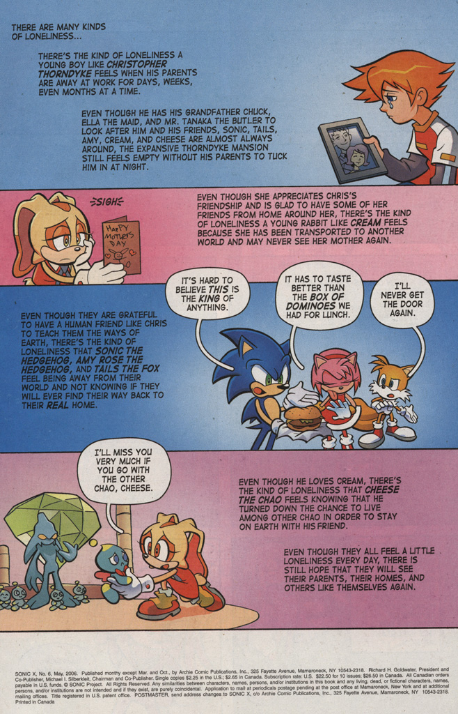 Read online Sonic X comic -  Issue #6 - 3