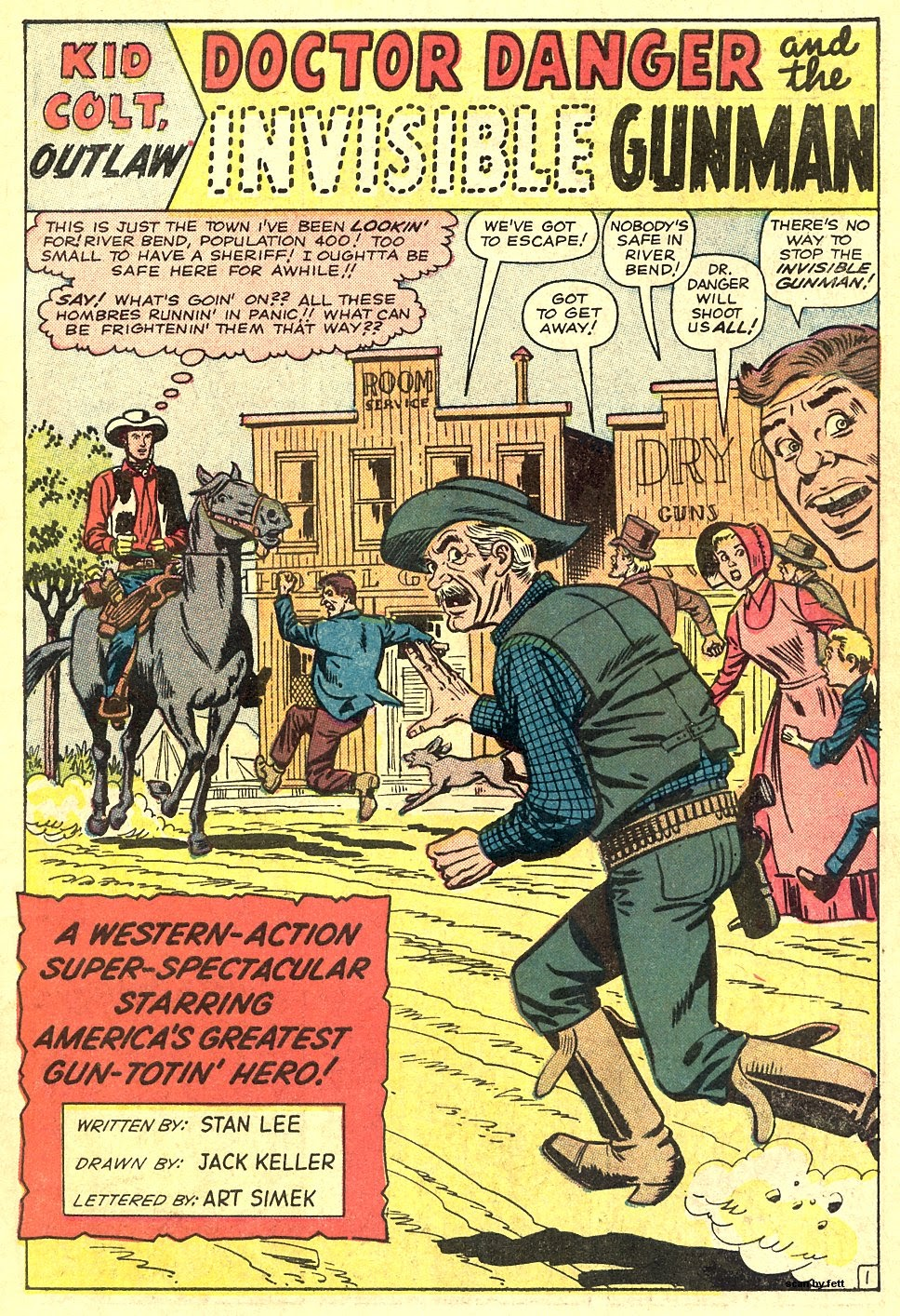 Kid Colt Outlaw issue 116 - Page 3
