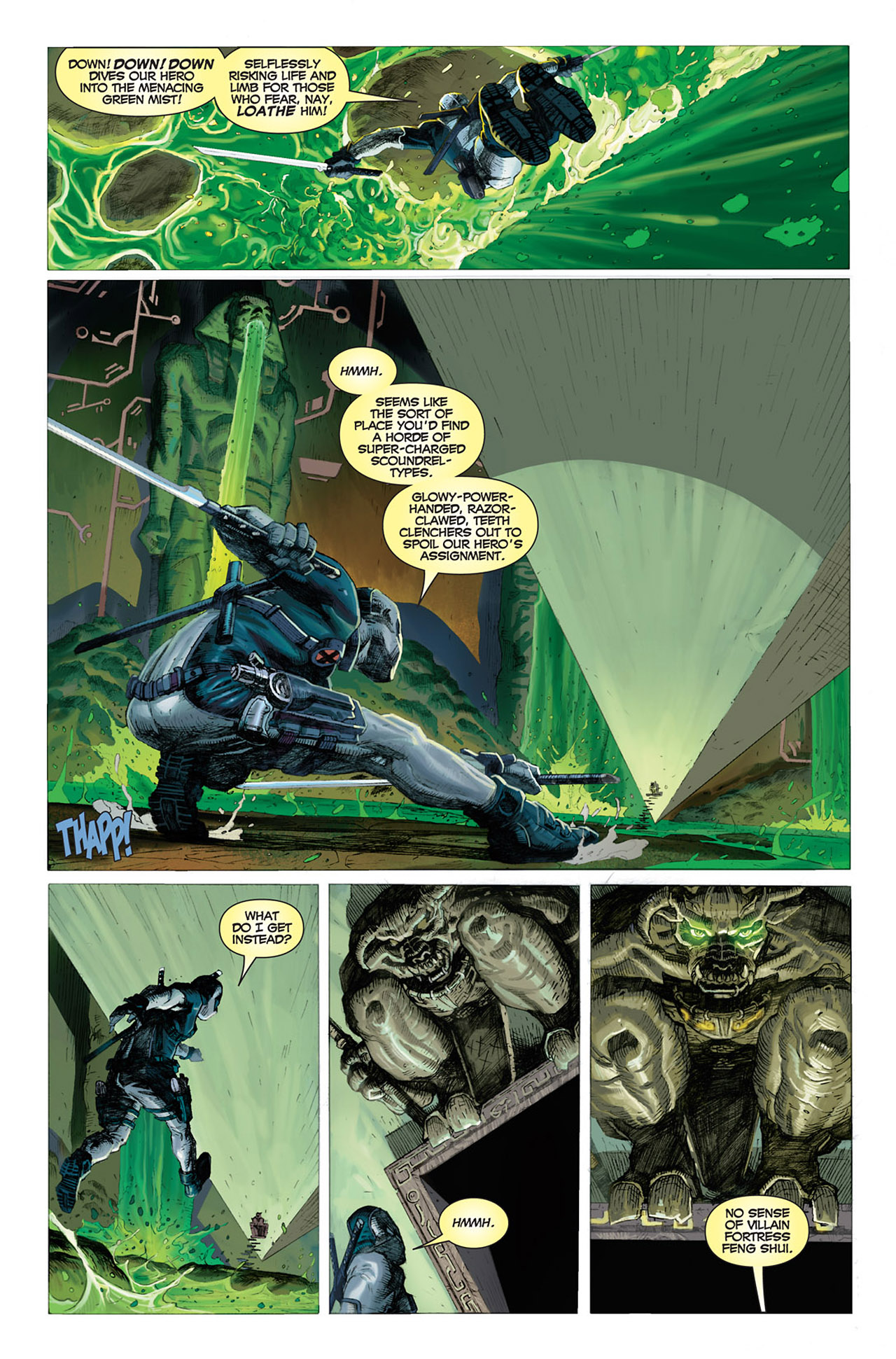 Read online Uncanny X-Force (2010) comic -  Issue #1 - 3