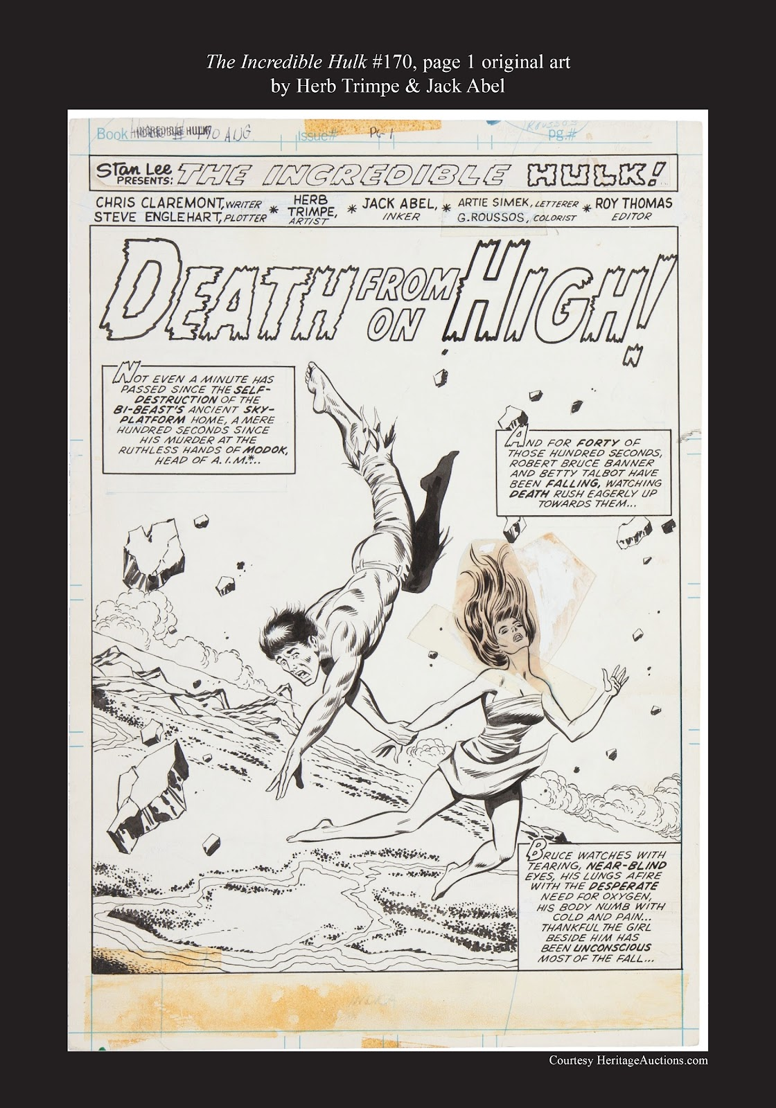 Read online Marvel Masterworks: The Incredible Hulk comic -  Issue # TPB 9 (Part 3) - 97