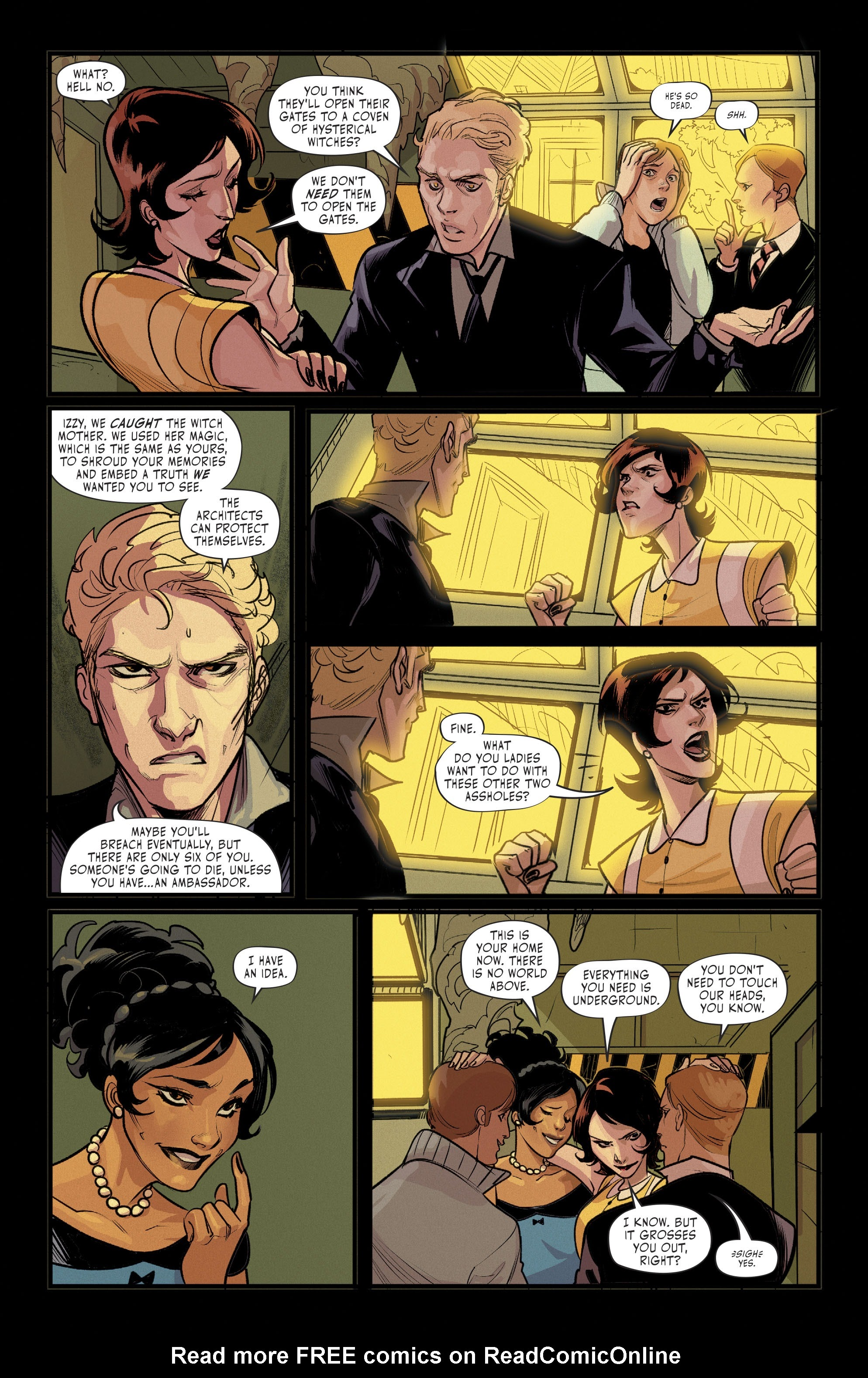 Hex Wives #6 #6 - English 17