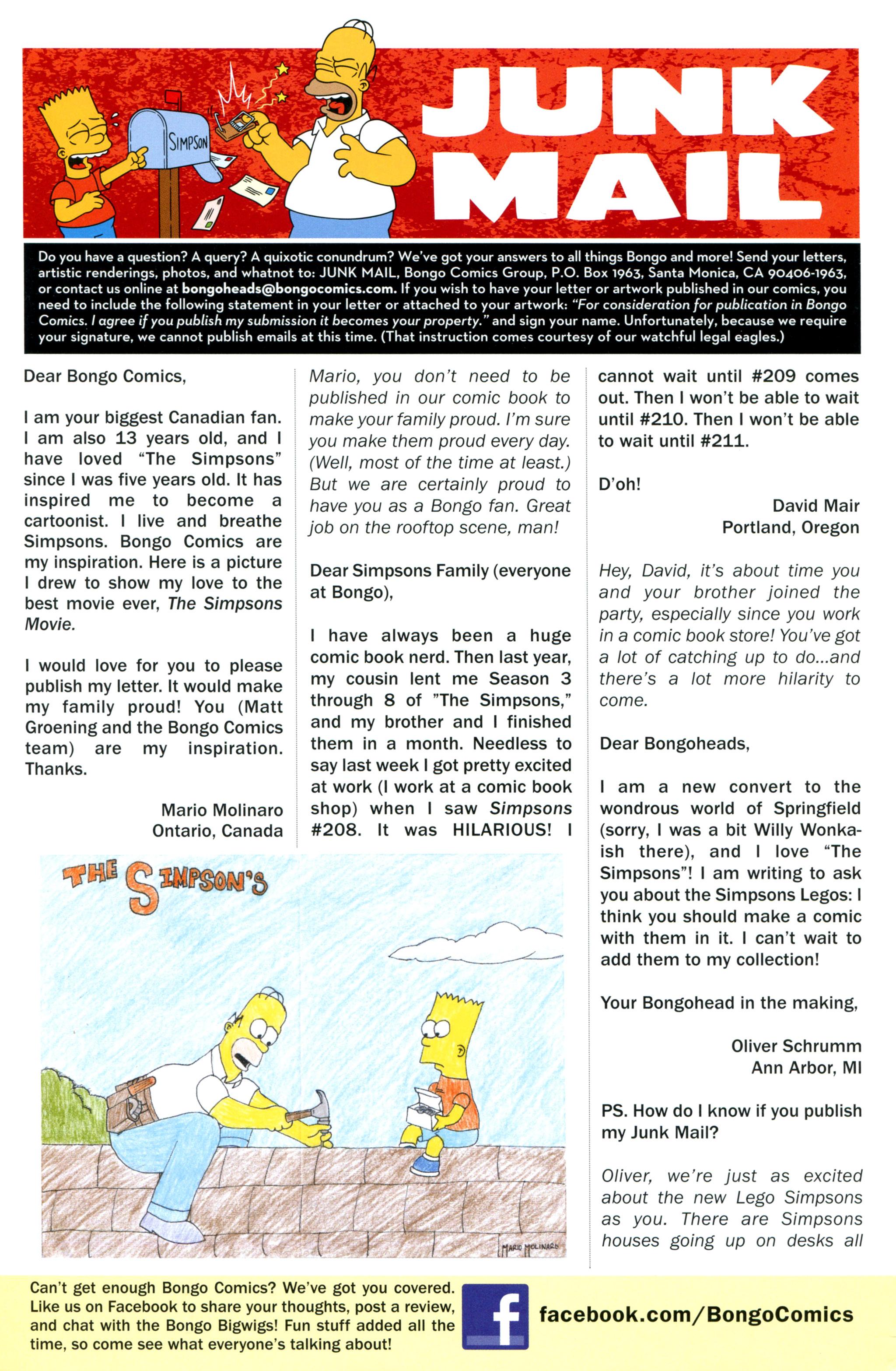 Read online Simpsons Comics comic -  Issue #212 - 28