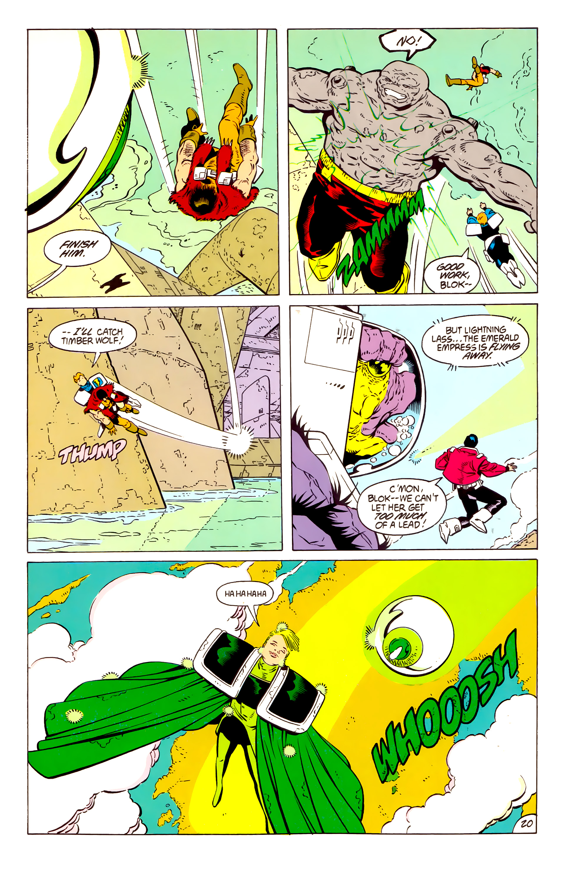 Legion of Super-Heroes (1984) 57 Page 20