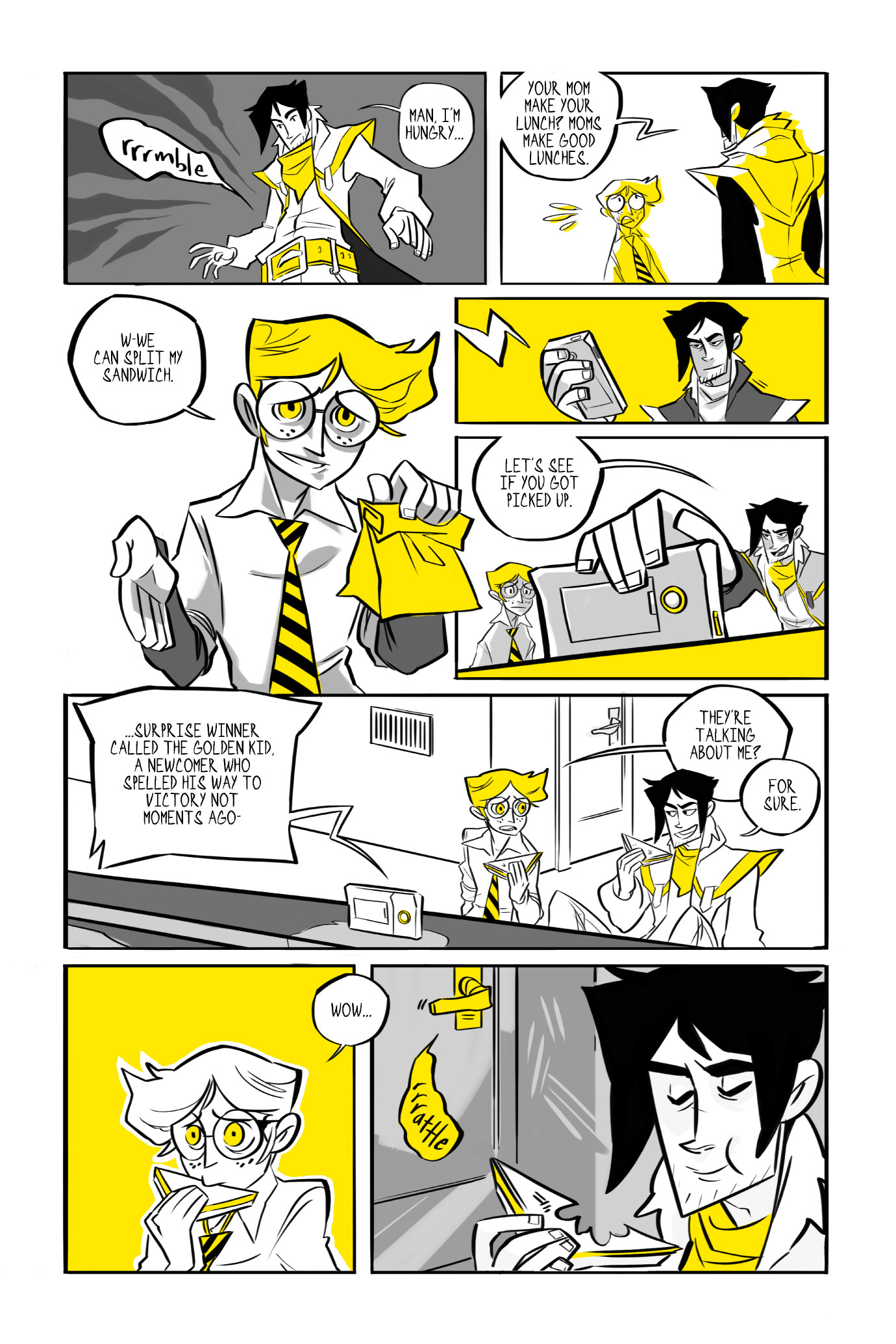 Read online BUZZ! comic -  Issue # TPB - 71