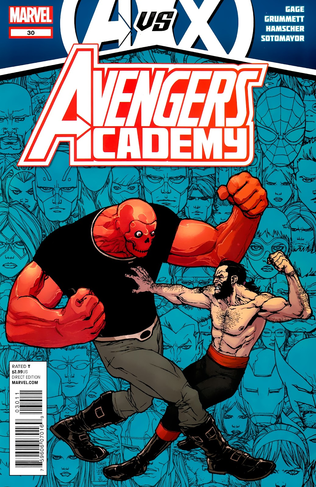 Avengers Academy issue 30 - Page 1