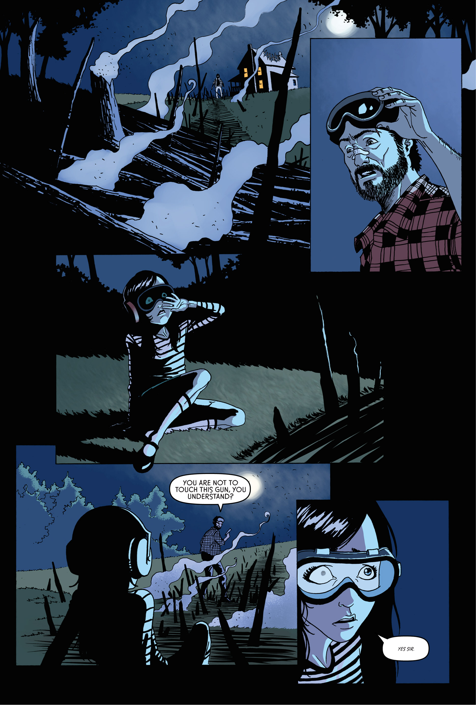 Read online Trespasser comic -  Issue #1 - 16