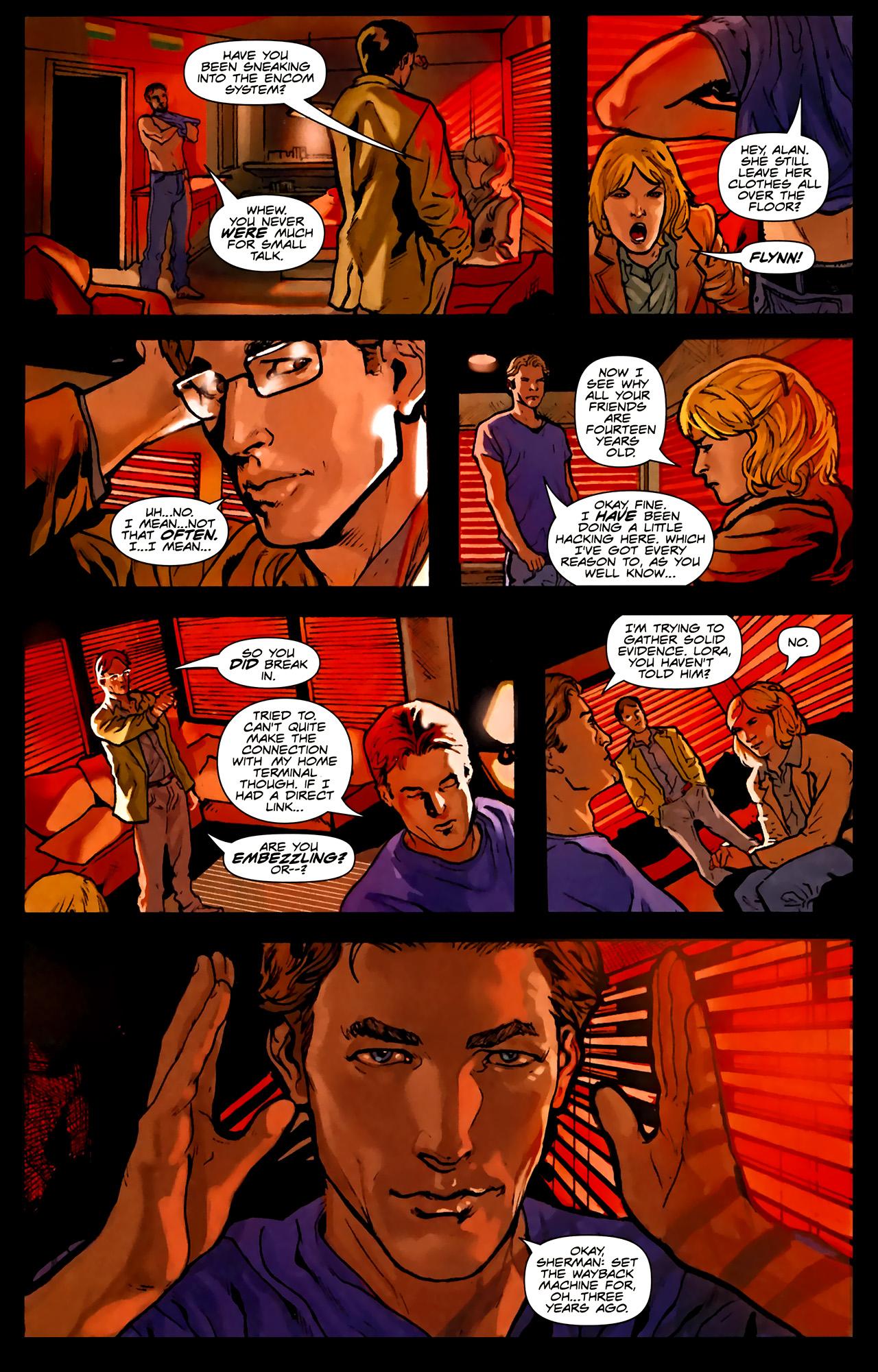 Read online TRON: Original Movie Adaptation comic -  Issue #1 - 22