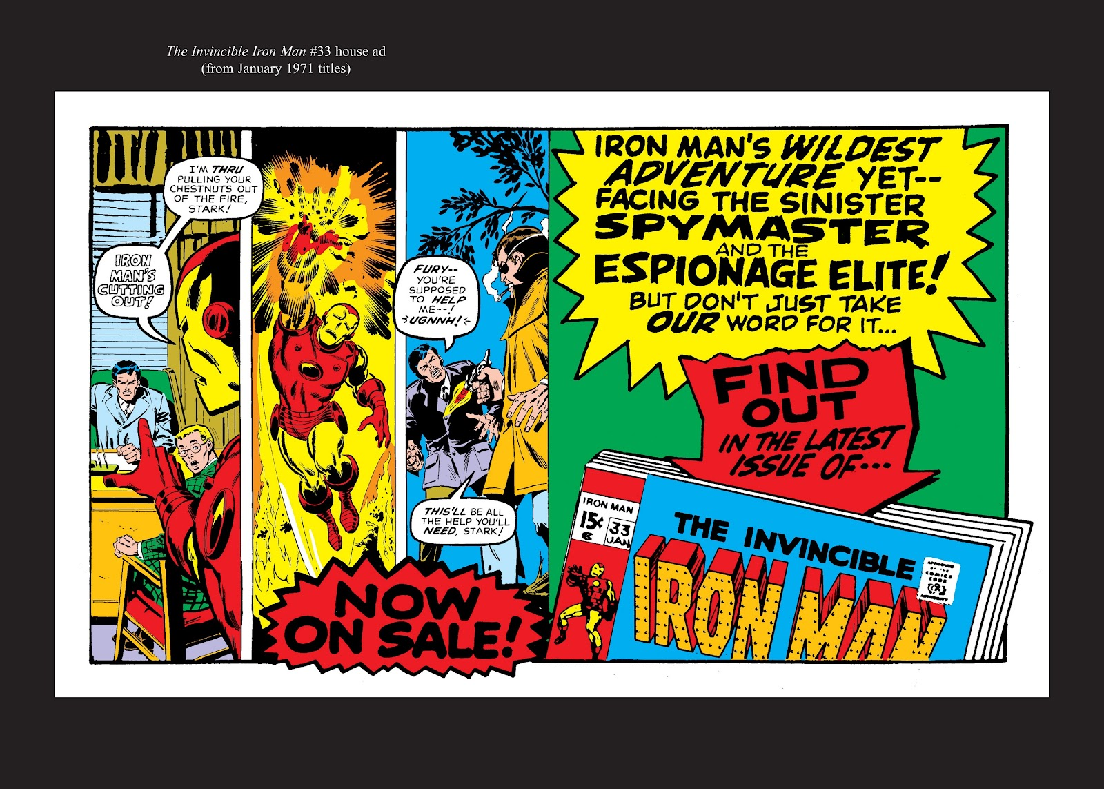 Read online Marvel Masterworks: The Invincible Iron Man comic -  Issue # TPB 7 (Part 3) - 90