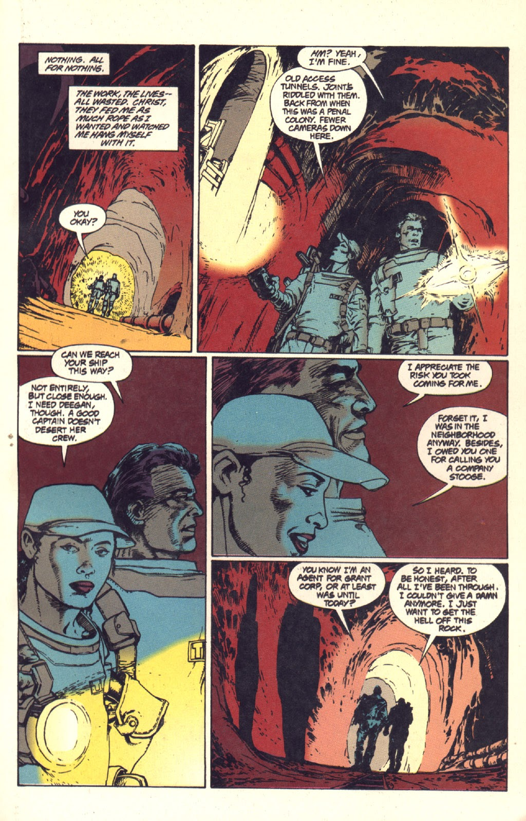 Read online Aliens: Rogue comic -  Issue #1 - 72