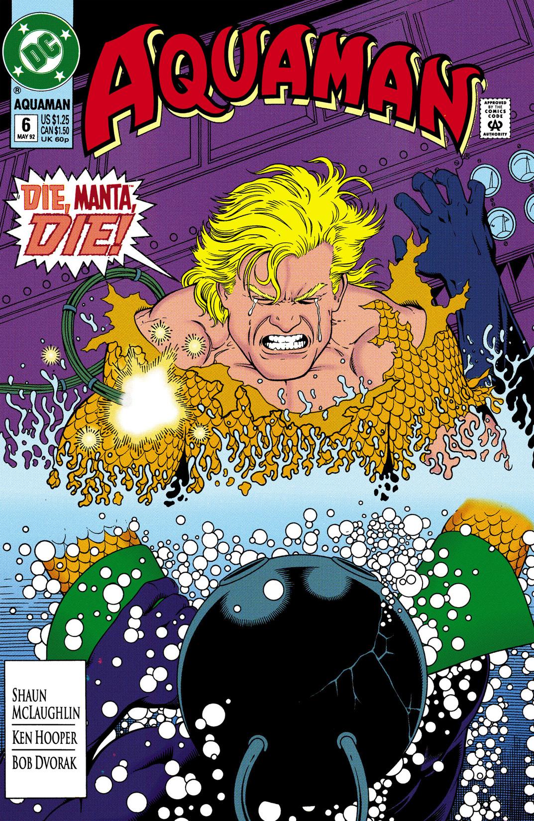 Read online Aquaman (1991) comic -  Issue #6 - 1