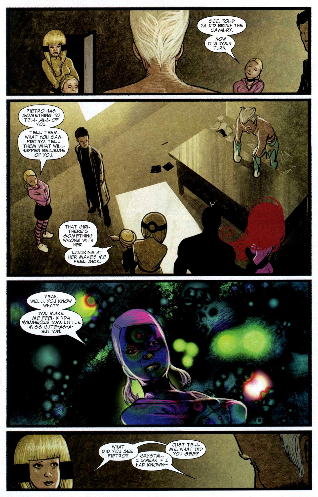 Read online Silent War comic -  Issue #3 - 13