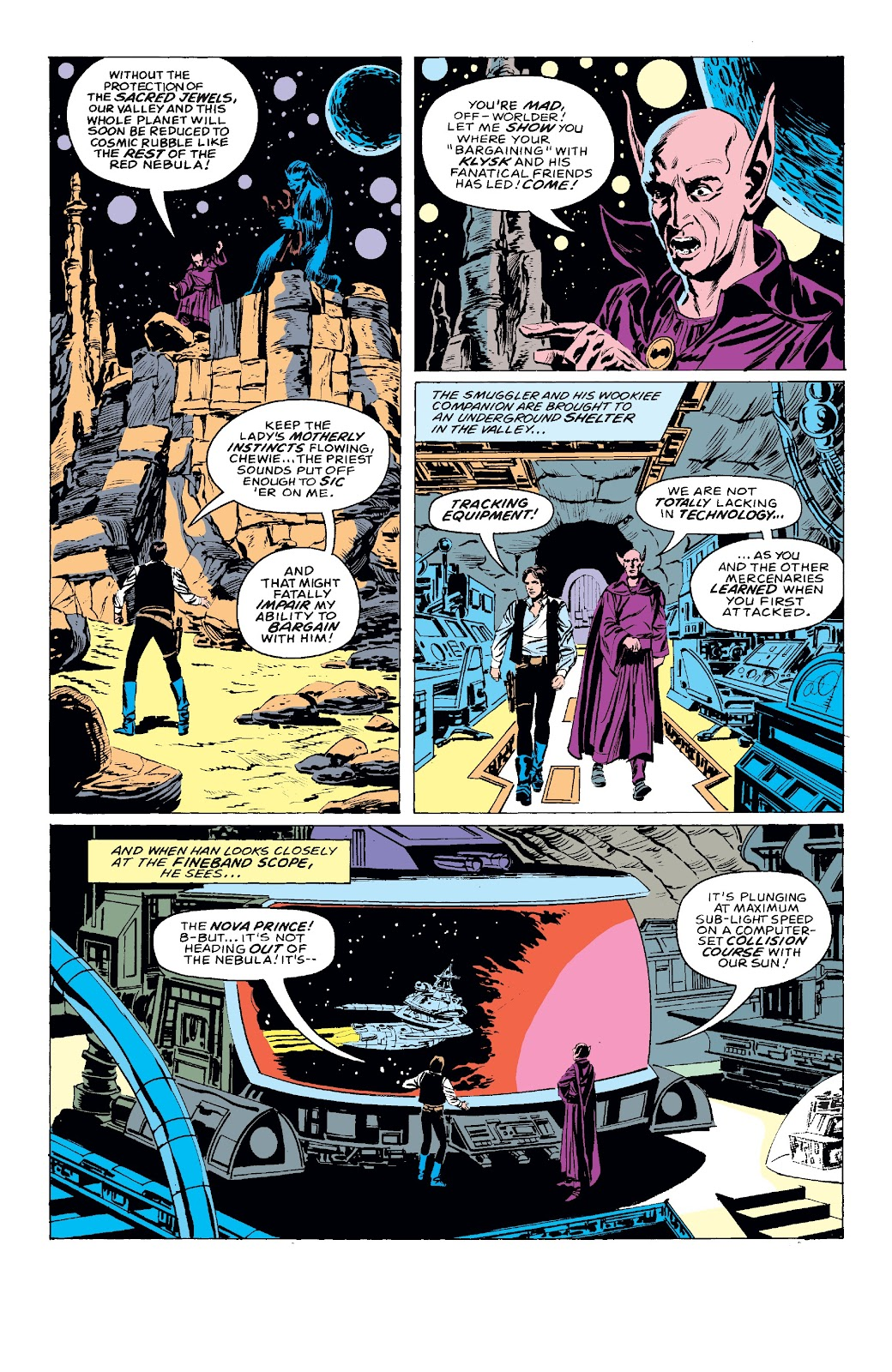 Read online Star Wars Legends: The Original Marvel Years - Epic Collection comic -  Issue # TPB 3 (Part 3) - 54