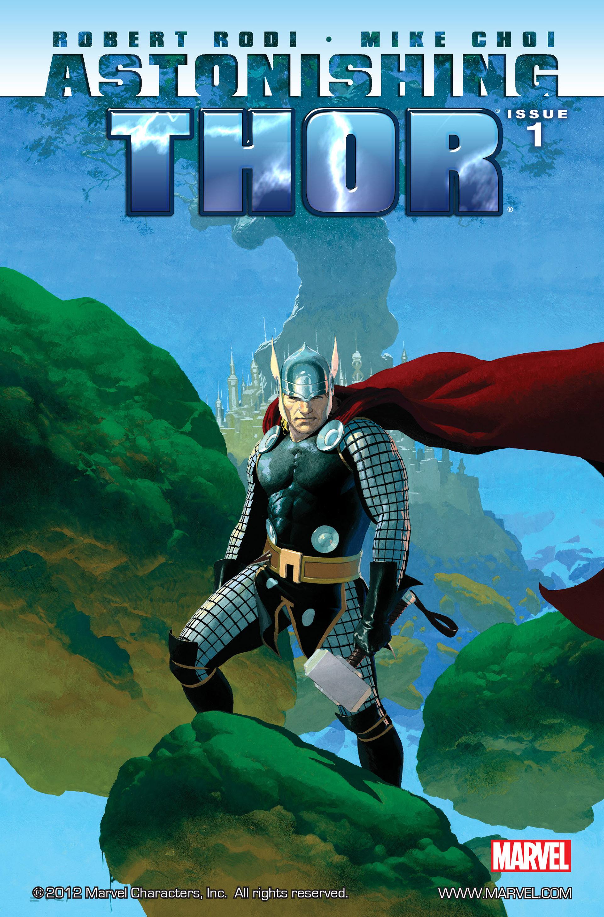 Read online Astonishing Thor comic -  Issue #1 - 1