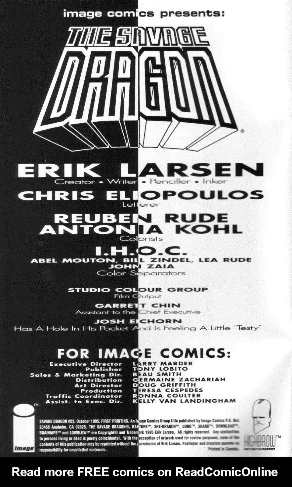 The Savage Dragon (1993) Issue #23 #26 - English 3