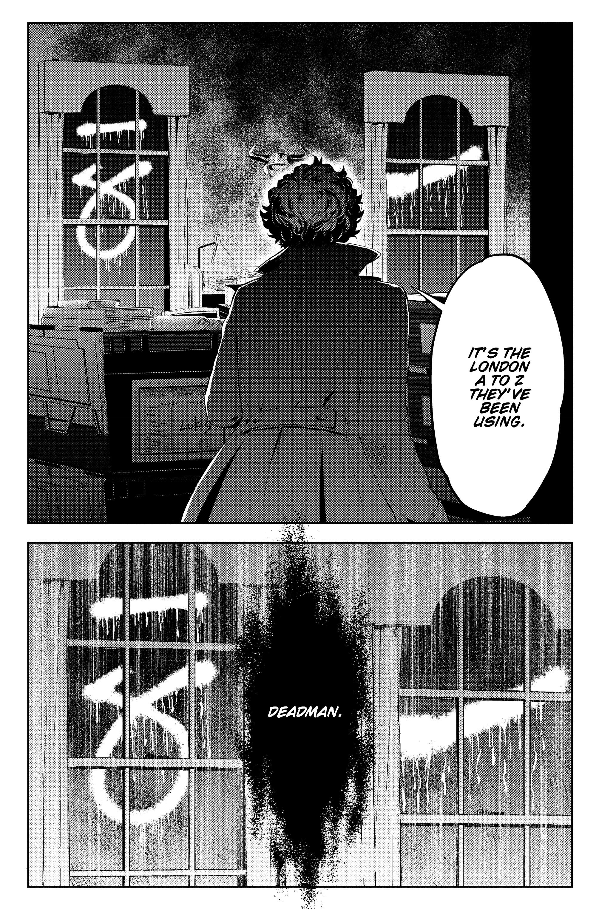 Read online Sherlock: The Blind Banker comic -  Issue #5 - 38