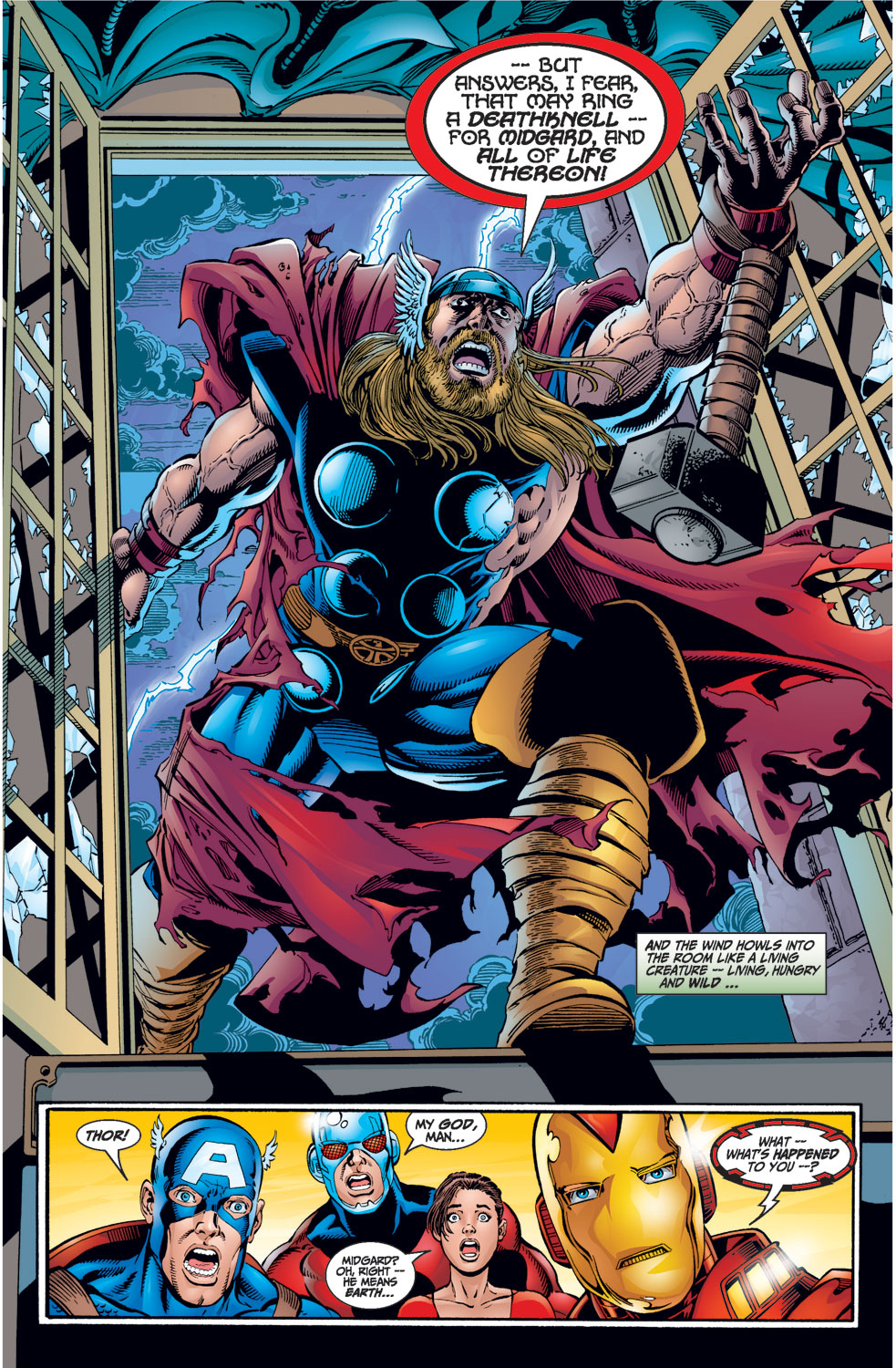 Read online Avengers (1998) comic -  Issue #1 - 12