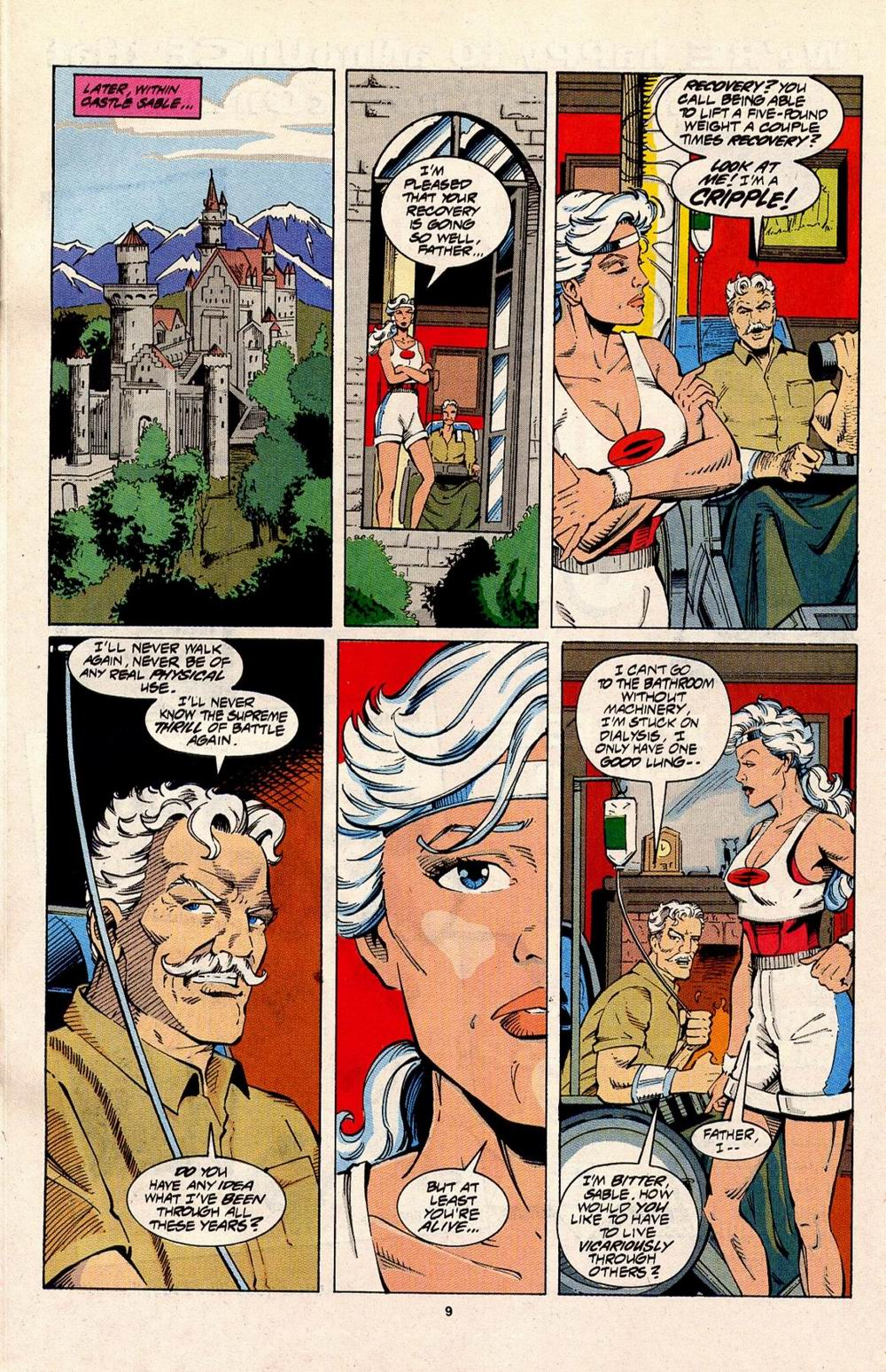 Read online Silver Sable and the Wild Pack comic -  Issue #31 - 8