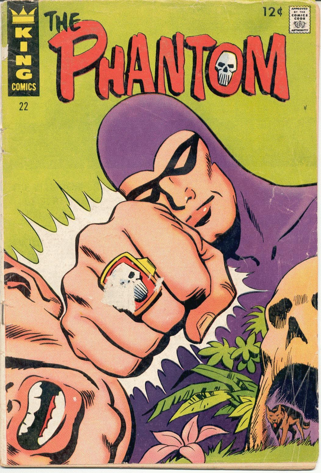 The Phantom (1966) issue 22 - Page 1
