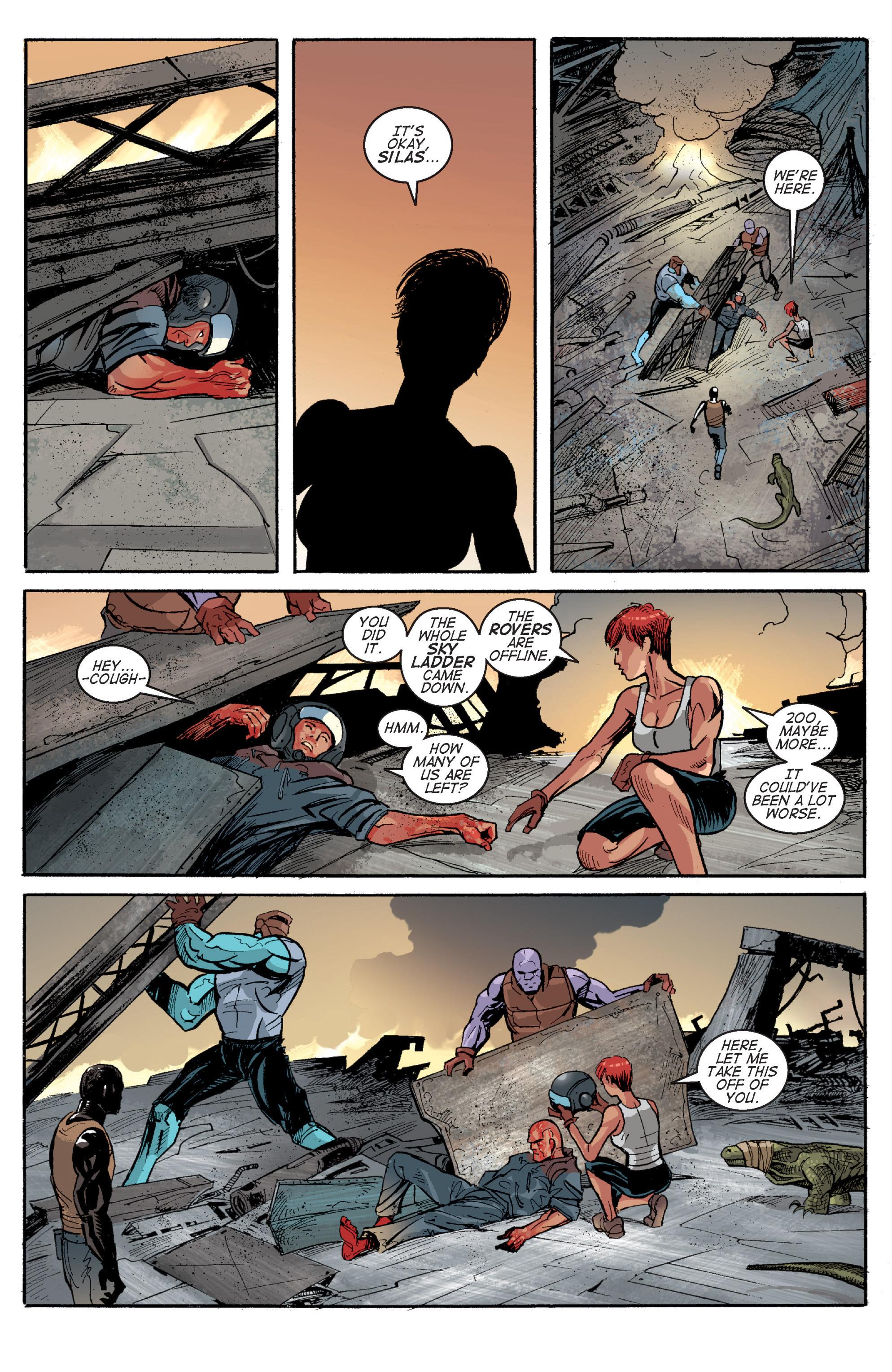 Read online Planetoid comic -  Issue # TPB - 162