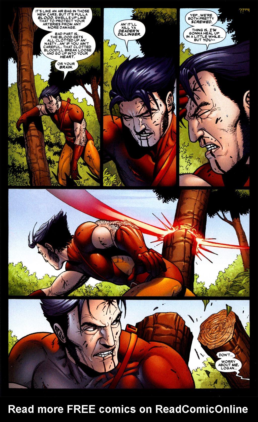 Read online Wolverine: Origins comic -  Issue #4 - 14
