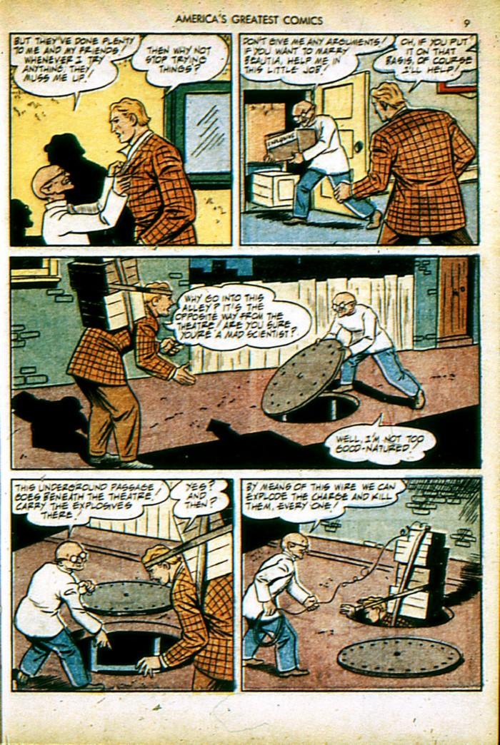 Read online America's Greatest Comics comic -  Issue #4 - 9