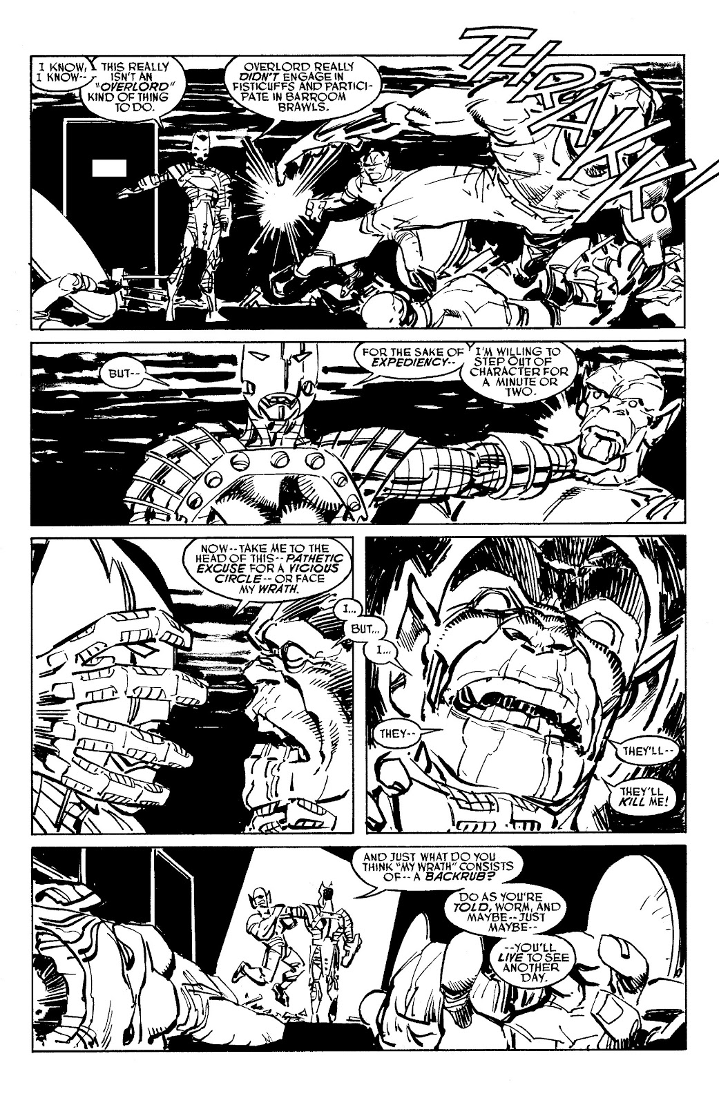 Read online Savage Dragon Archives comic -  Issue # TPB 6 (Part 5) - 98