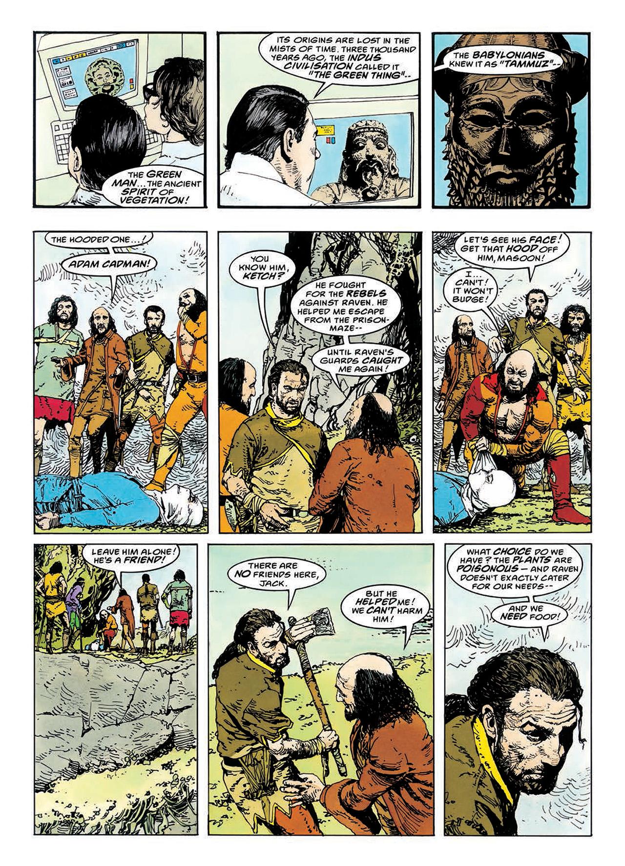 Read online Mazeworld comic -  Issue # TPB - 103