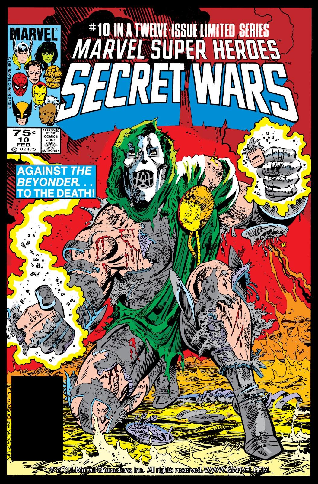 Marvel Super Heroes Secret Wars (1984) issue 10 - Page 1