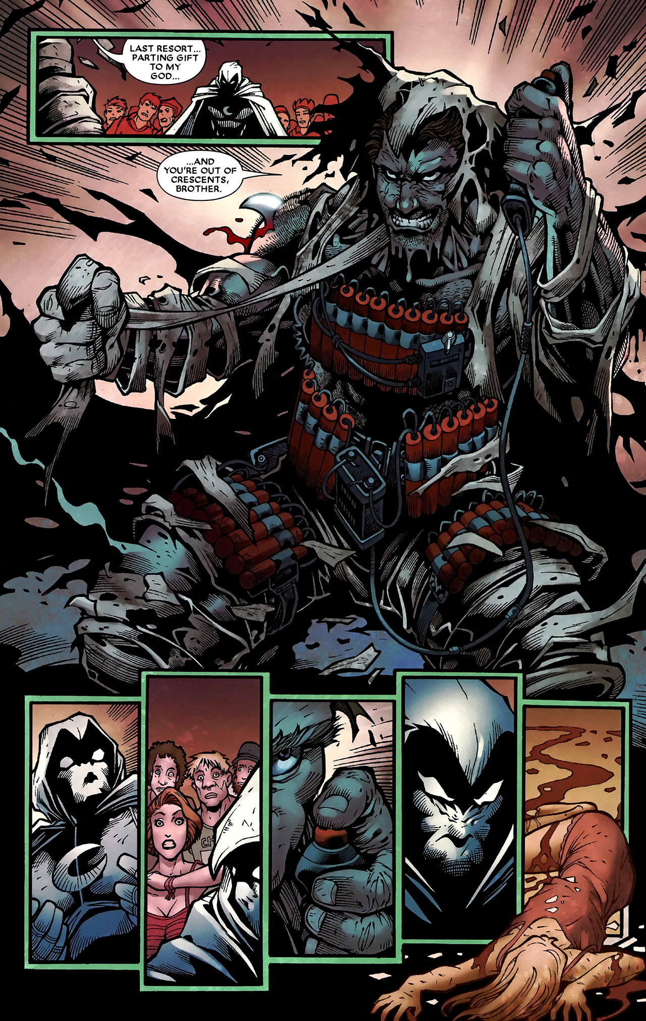 Read online Shadowland: Moon Knight comic -  Issue #3 - 20