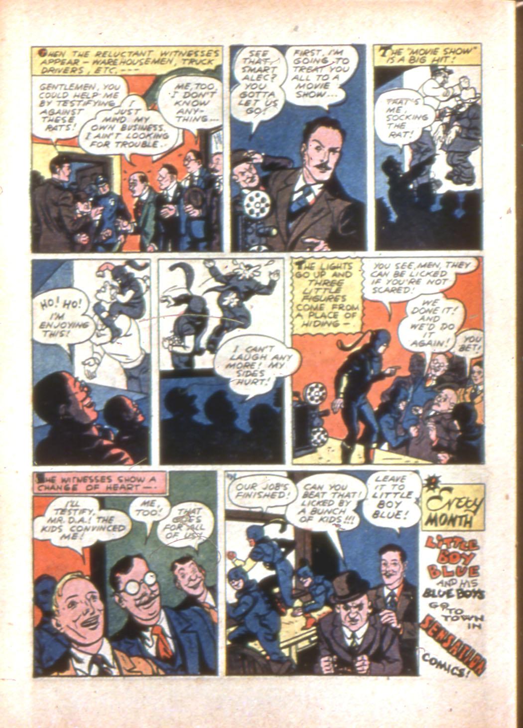 Read online Sensation (Mystery) Comics comic -  Issue #7 - 54